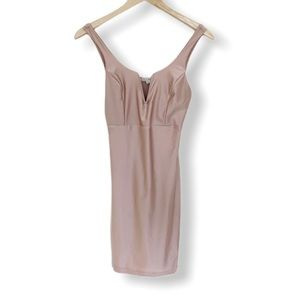 Haute Monde Blush Slip Dress Mini Size M